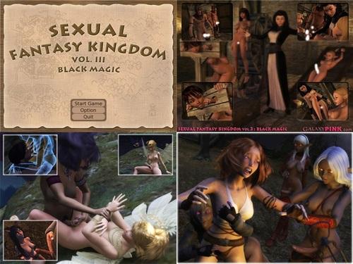 Hentai Sex Game Sexual Fantasy Kingdom Vol.3 Black Magic